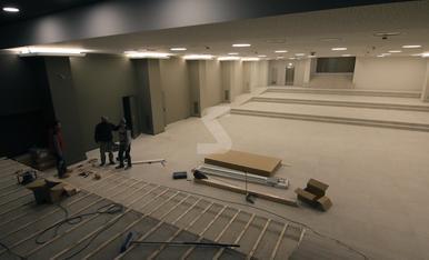 © A punt la nova sala polivalent de Mercolleida