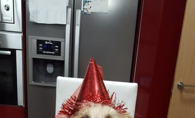 La Kira, el dia del seu aniversari, el maig passat.