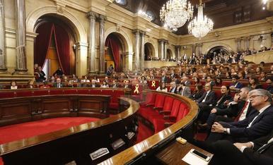 Imágenes de la sesión de constitución del Parlamento