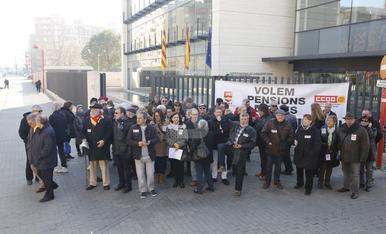 © Els jubilats de Lleida reclamen millors pensions