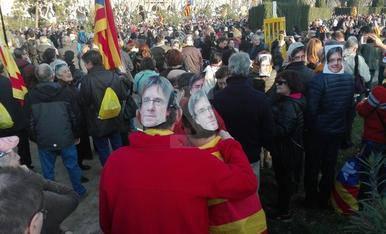Manifestació al Parlament
