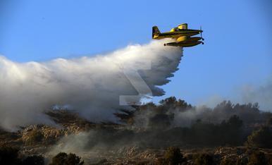 © Incendi forestal a la Noguera