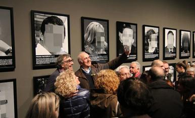 Inauguración de 'Presos políticos' en el Museu de Lleida