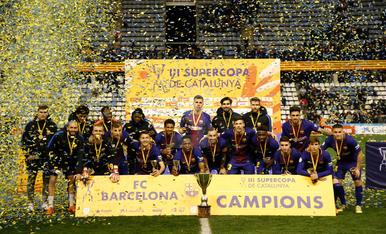 Supercopa de Catalunya: Barça - Espanyol
