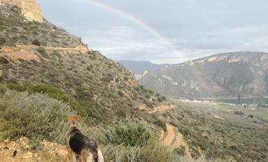 El llampec veien l'arc de sant marti a sant llorenç de montgai