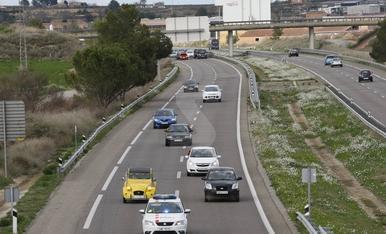 Cortes de carreteras y marchas lentas