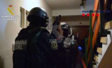 Operació a Catalunya i Osca contra una banda de lladres