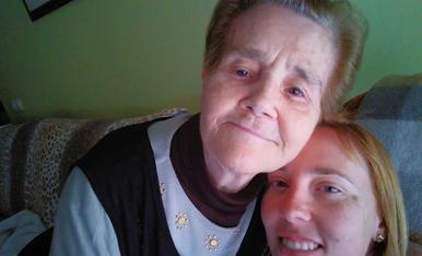 La Concepció m'ha mare la dona amb mes nervi i coratge ,estic molt orgullosa de ella.