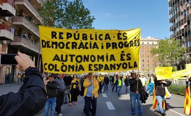 """Manifestació a Barcelona """"Pels drets i les llibertats"""""""