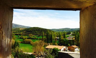 Es respira verd primavera al poble!!