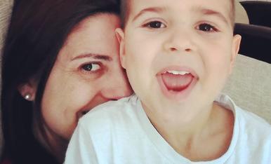 Som la Maria Jose i en Genís el nostre petit que farà 4 anys dintre de poc