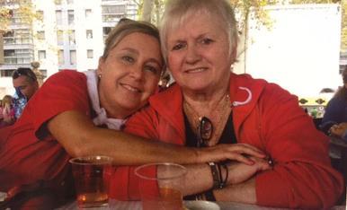 Amb la Pilarin, la meva companya de vida, gaudint de l'Aplec per molts anys!!!!
