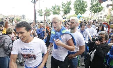 El Lleida Llista celebra la Copa CERS