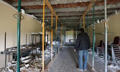 Un okupa s'instal·la a l'antic hotel Ilerda