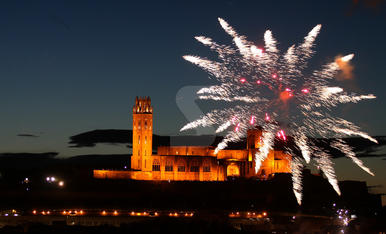 Focs artificials de la Festa Major de Lleida 2018