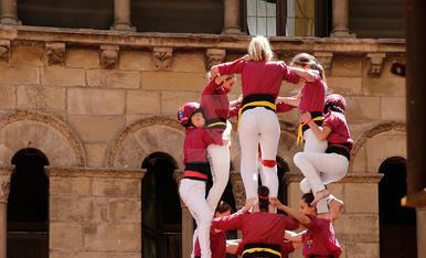 Jornada castellera a la Festa Major de Lleida 2018