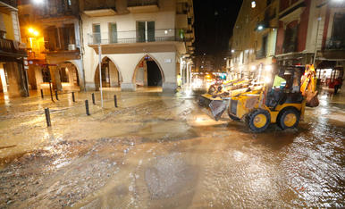 Inundacions a Balaguer