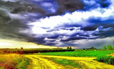 Tempesta amb colors