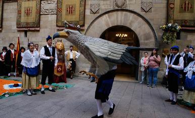 Celebració del Corpus a Lleida i comarques