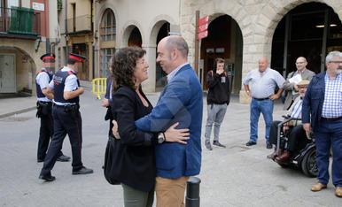 Primer acte de Teresa Jordà, consellera d'Agricultura, a la Noguera