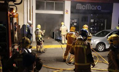 Explosión en un transformador en la Zona Alta de Lleida