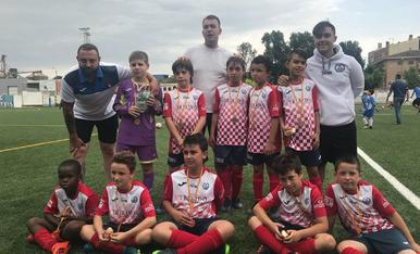 C.F.Balaguer - Benjami C - 2017-2018 (a la foto falta un jugador)
