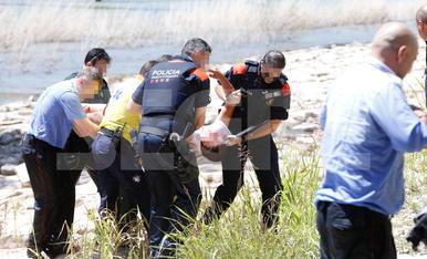 Rescaten un home al riu a Lleida ciutat