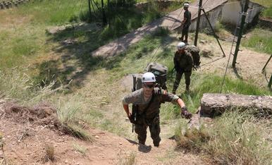 Maniobras militares en Talarn