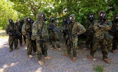 Maniobres militars a Talarn