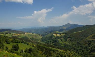 Vistas espectaculares desde O Cebreiro (Lugo)