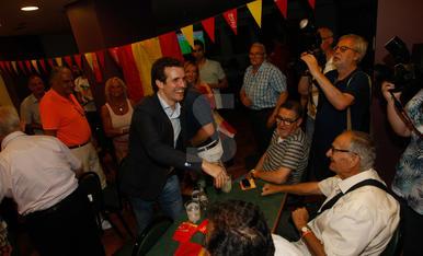 Pablo Casado, a Lleida