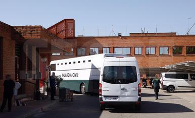 Els polítics presos, al centre penitenciari de Ponent