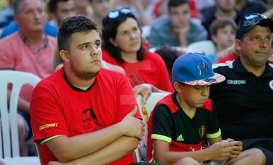 Balaguer vibra amb la Bèlgica de Robert Martínez