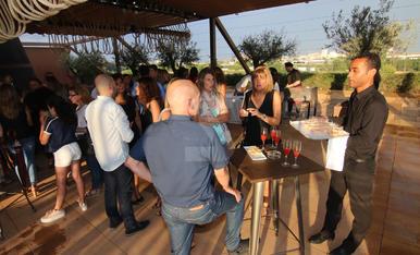 Inauguració de la terrassa Raiers de Lleida