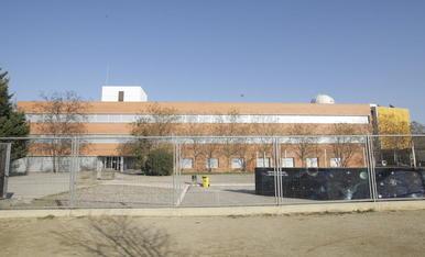 Imatge d'arxiu de l'institut Maria Rúbies, ubicat al barri de la Bordeta.