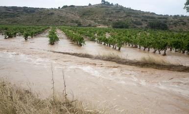 Inundacions després de l'onada de calor