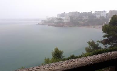 Tarda de pluja a Salou