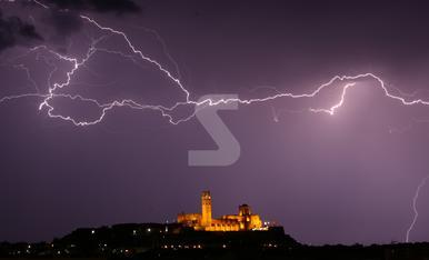 © Tormentas y lluvias torrenciales en media Catalunya