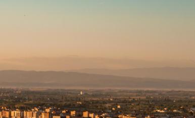 Lleida i les seves tonalitats d'estiu.