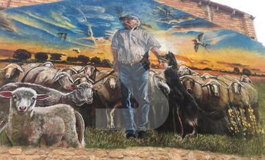 © Homenaje a un pastor de Juncosa