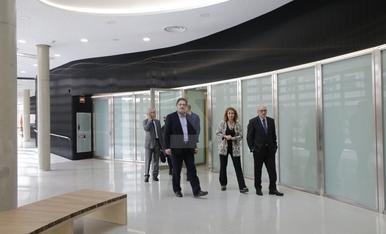 Visita als nous jutjats de Lleida