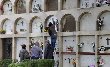Tots Sants al cementiri de Lleida