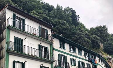 Façanes a San Sebastián