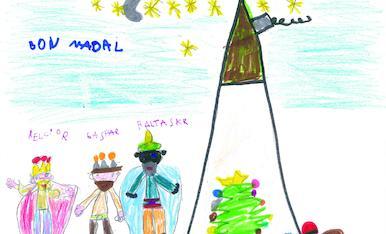 Arriba el Nadal i arriben els Reis mags d'Orient! L'Emma és de Lleida