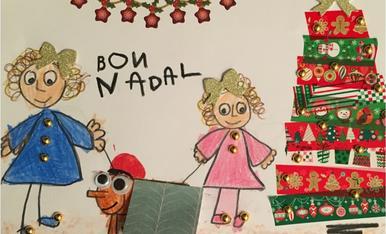 Júlia Costa Pascual. 5 anys. Un Nadal màgic.
