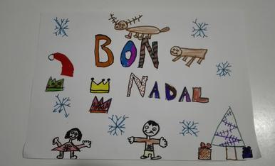Gerard Cuñé. 8 anys. Un meravellós Nadal.