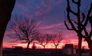 Solsticio de invierno en Gimenells