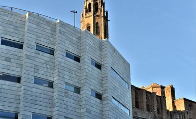 fachada de los juzgados en Lleida