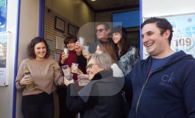© El Gordo deja 120 millones en Huesca