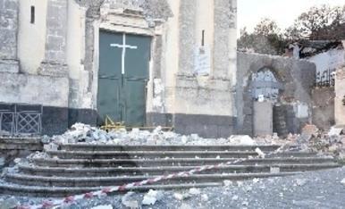 © Terratrèmol després de l'erupció de l'Etna